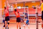 Juniorzy sekcji siatkówki MOSiR Mikołów