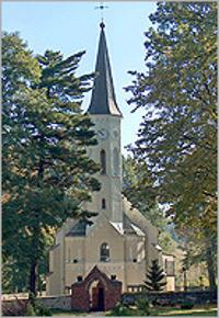 Parafia Mokre - Kościół pw. św. Wawrzyńca