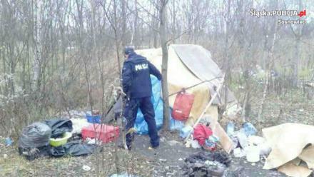 Zdążyć z pomocą - kontrole pustostanów i apel policjantów