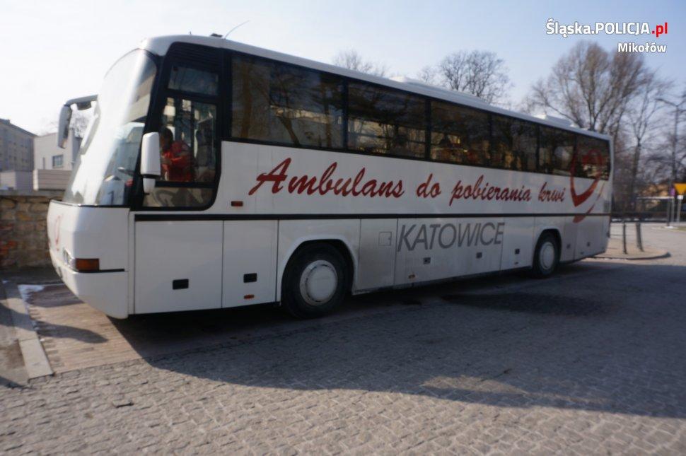 Mikołowscy policjanci oddali krew