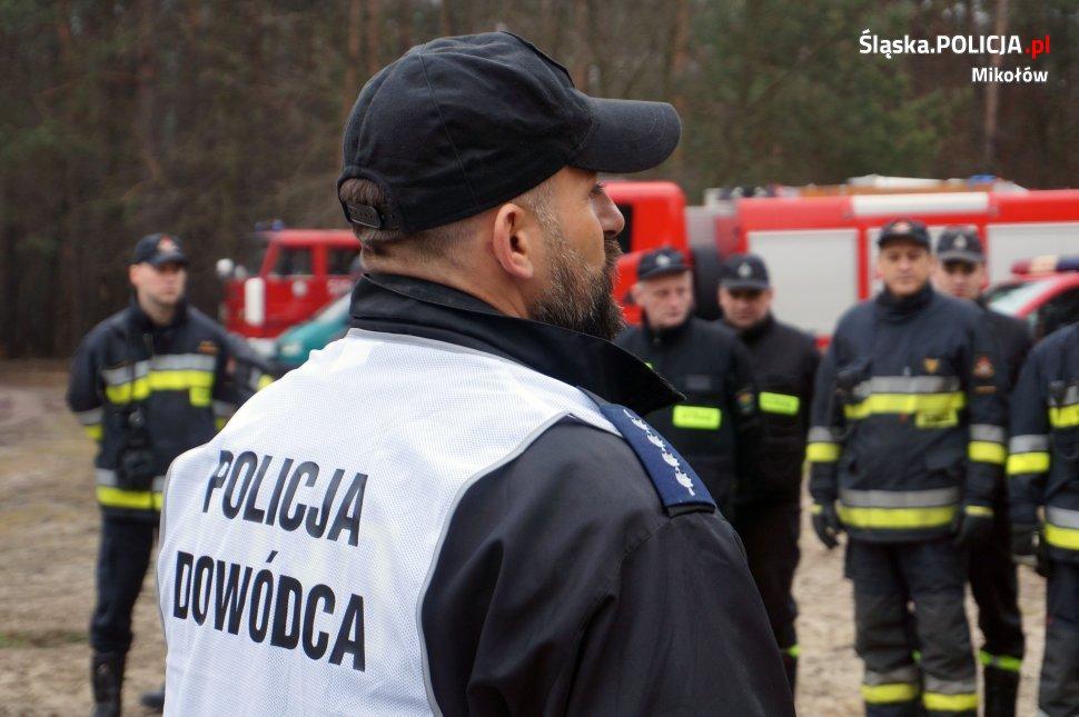 Policjanci szkolili się w poszukiwaniach osób zaginionych