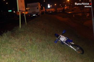 Motocyklisto, jedź ostrożnie!