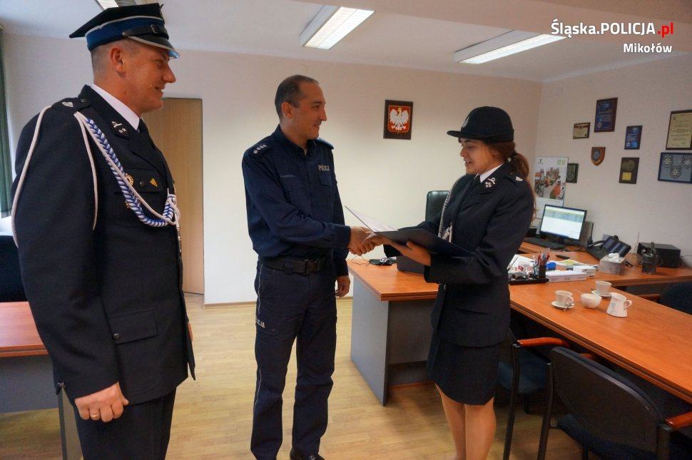 Podziękowanie dla policjantów za uratowanie życia