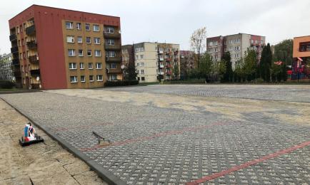 Parking na Osiedlu Słowackiego prawie gotowy