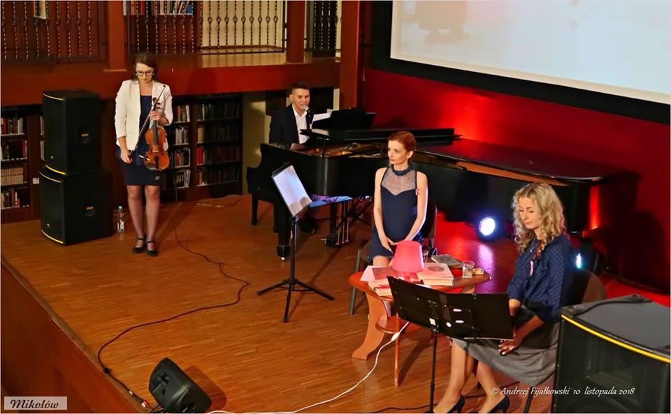 Muzycznie o patriotyzmie w mikołowskiej bibliotece