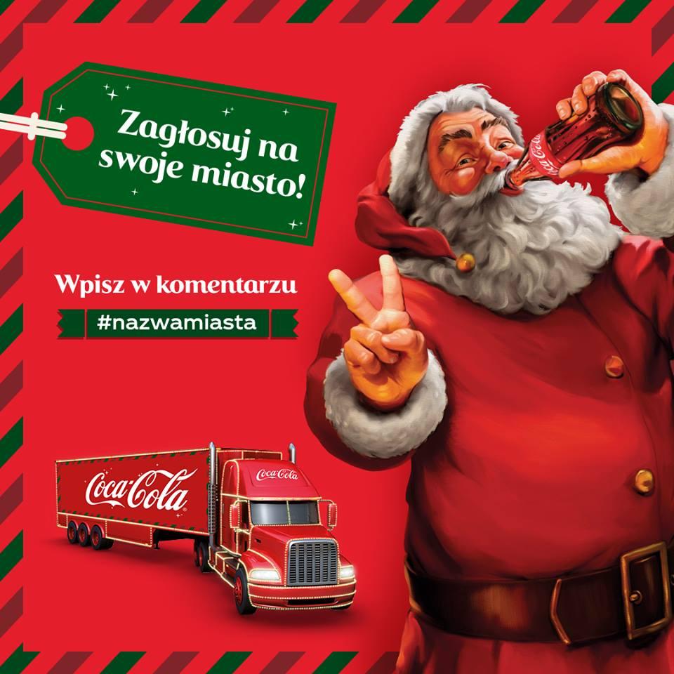 Świąteczna ciężarówka Coca-Coli w Mikołowie?