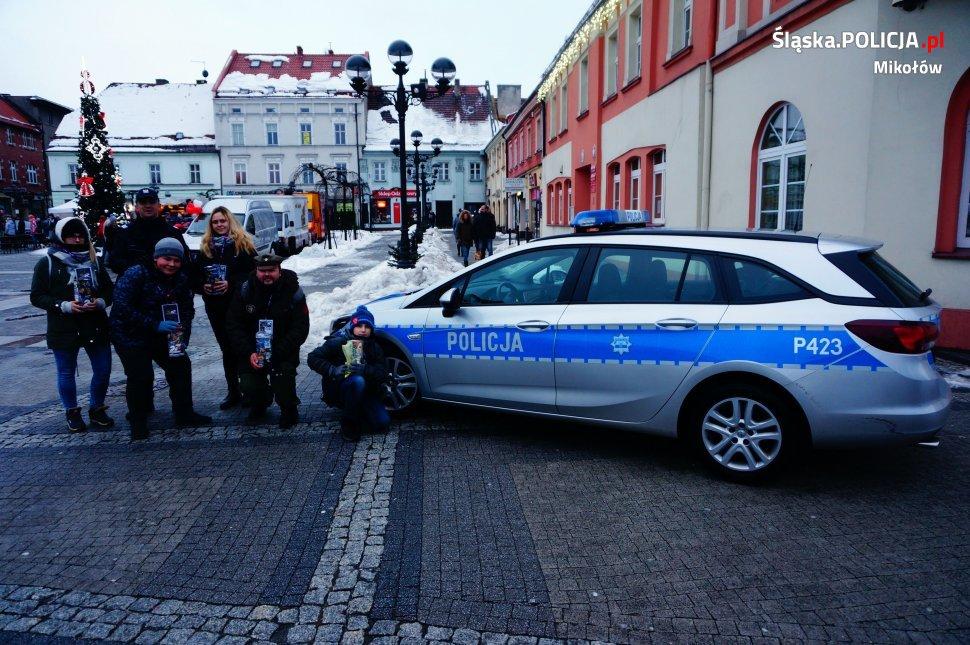 Mikołowscy policjanci czuwali nad bezpieczeństwem podczas XXVII Finału WOŚP