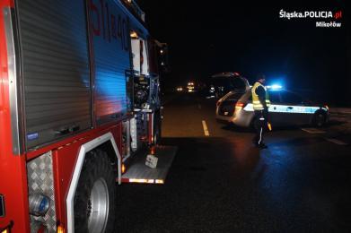 Śmiertelne potrącenie pieszego. Policjanci szukają świadków