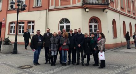 Mikołów odwiedziła 15-osobowa delegacja samorządowców z Ukrainy