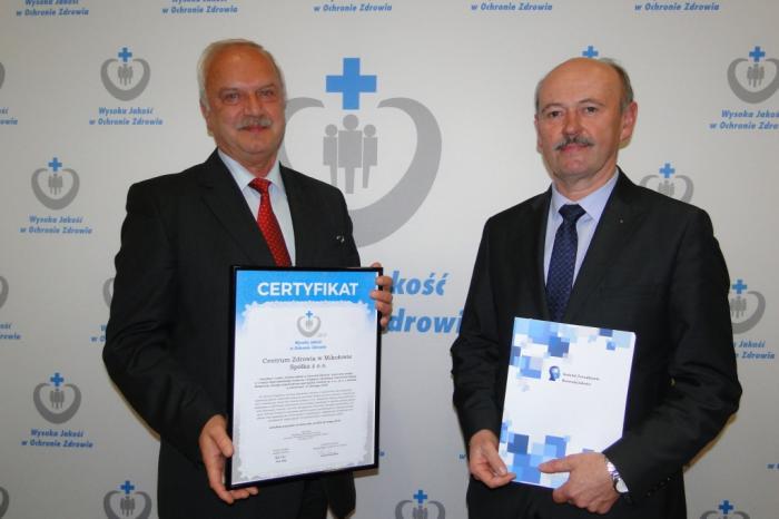Szpital Powiatowy z nagrodą Wysoka Jakość w Ochronie Zdrowia