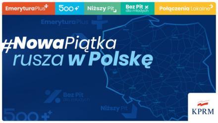 Nowa Piątka PiS rusza w Polskę. We wtorek pojawi się w Mikołowie