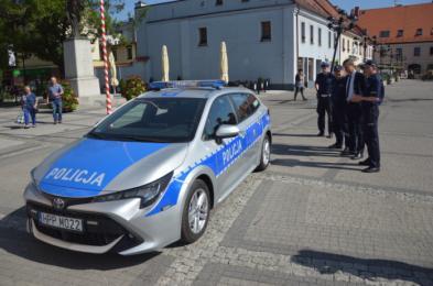 Nowy radiowóz dla mikołowskiej policji