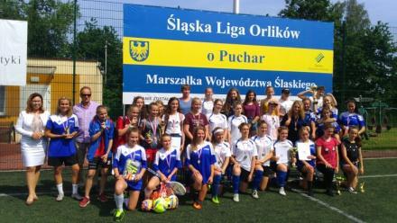 Piłkarki z SP nr 10 mistrzyniami Śląska!