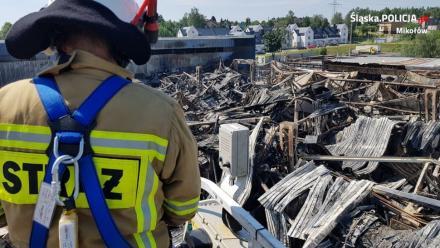Mikołowscy policjanci nadal wyjaśniają przyczyny wtorkowego pożaru [ZDJĘCIA]