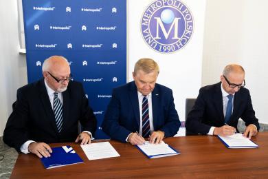 Metropolia GZM zyskała cennego partnera. Porozumienie z Unią Metropolii Polskich podpisane