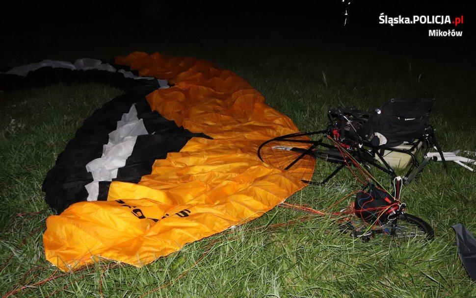 Tragiczny wypadek z udziałem motolotniarza. 54-latek zginął po upadku z dużej wysokości