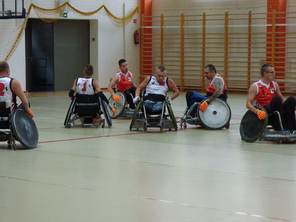 Profesjonalna Liga Rugby na wózkach - październik