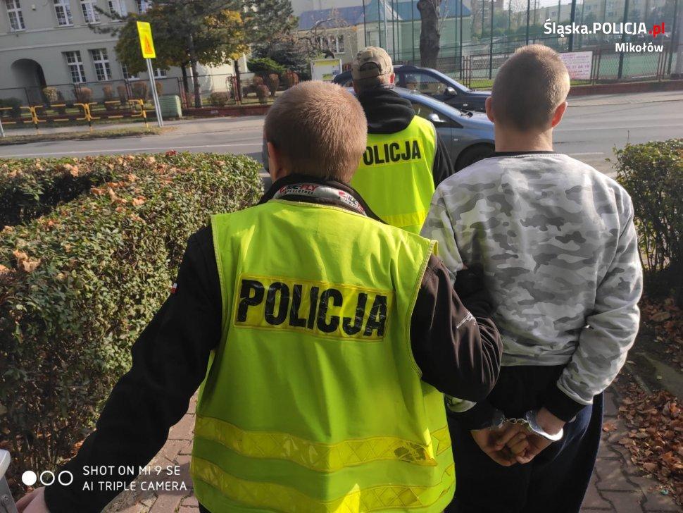 Trzy miesiące aresztu dla pseudokibica z Mikołowa