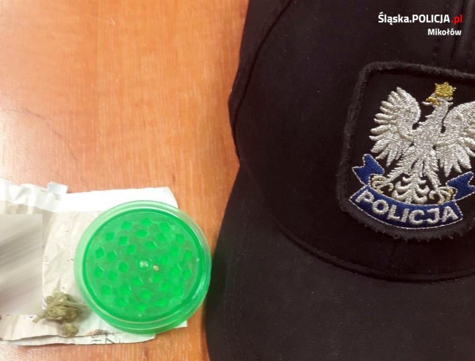 14-latek zatrzymany z marihuaną