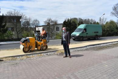 Inwestycje drogowe w Powiecie Mikołowskim