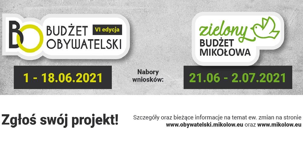 W czerwcu rusza VI edycja Budżetu Obywatelskiego i Zielony Budżet Mikołowa
