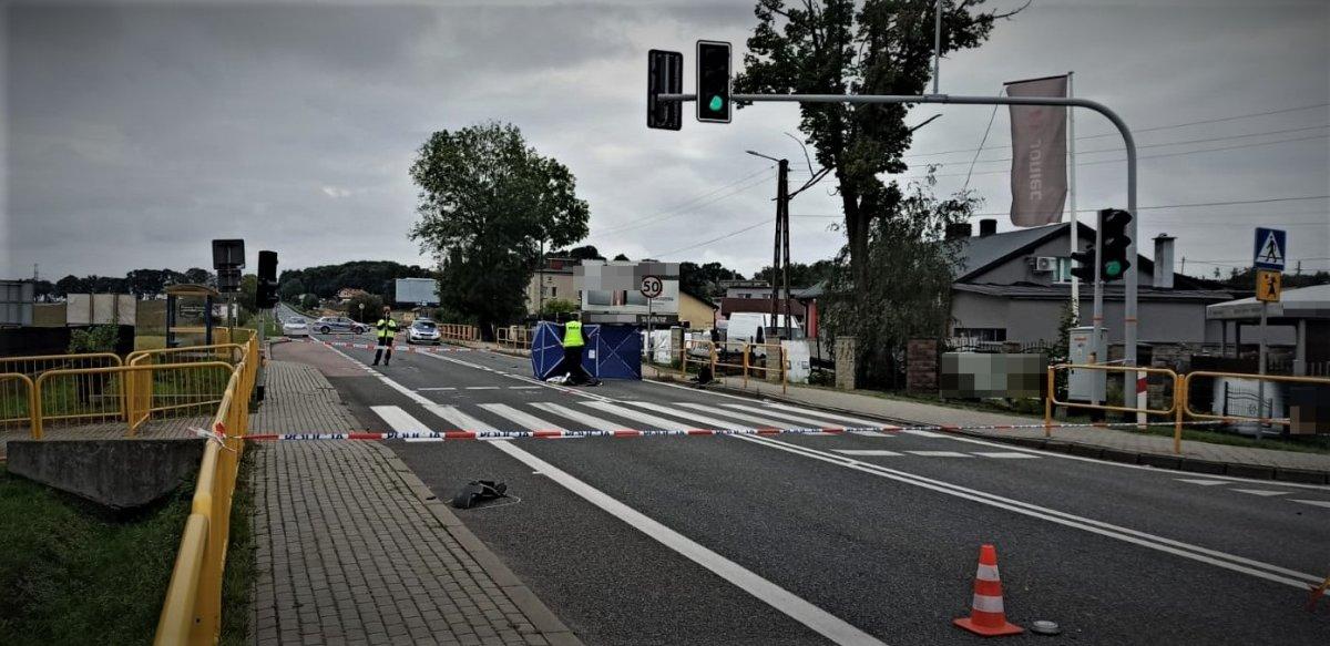 W Mikołowie doszło do śmiertelnego potrącenia. Sprawca uciekł z miejsca zdarzenia
